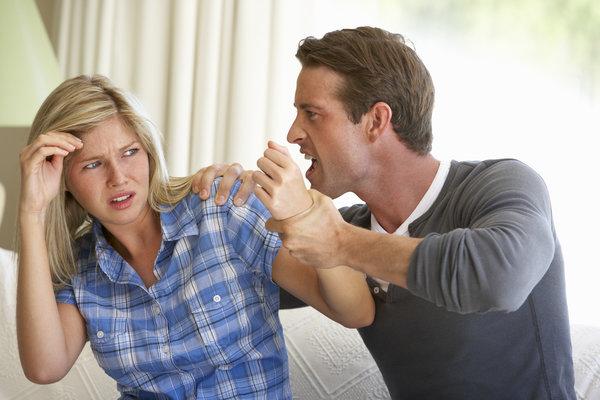 argument domestic violence men